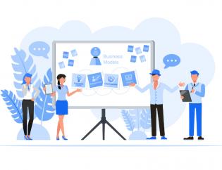 modelo negócio startup